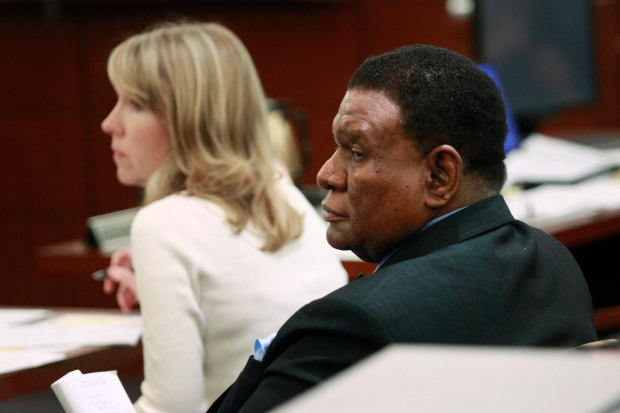 Comedian George Wallace appears in court