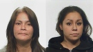 Rosalyn Faye Wilm (left) and Sarah Dawn Louisa Wilm are seen in these Regina police handout photos.