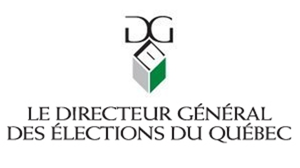 Chief electoral office Elections Quebec