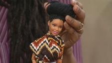 Black Barbie dolls customized