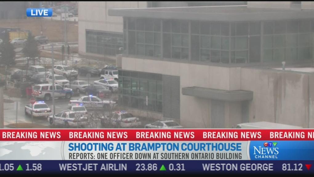 CTV News Channel: Shooting at Brampton courthouse | CTV News