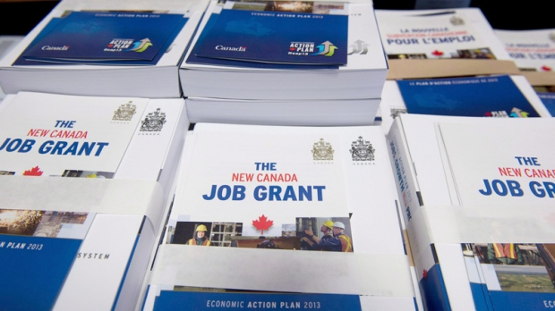 Federal Budget and Canada Job Grant pamphlets