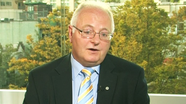 CUPE President Paul Moist appears on CTV's Power Play on Wednesday, Oct. 12, 2011.
