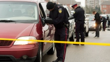 Police gather information on Brampton shooting