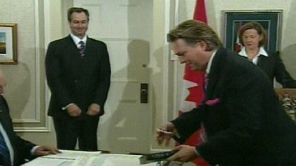Premier Redford appointed Thomas Lukaszuk as the Education Minister on Wednesday, October 12, 2011.