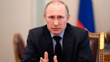 Russian President Vladimir Putin on Ukraine