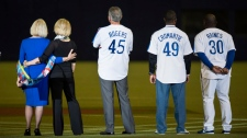 Sandy Carter, wife of former Montreal Expos Gary C