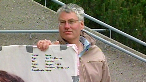 Bill Whatcott is seen in this undated image taken from video.