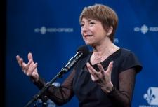 Quebec Solidaire leader Francoise David