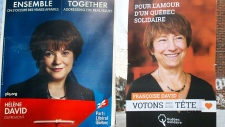 David sisters face off in Quebec elections