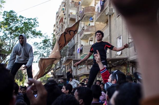 Egypt Morsi supporters