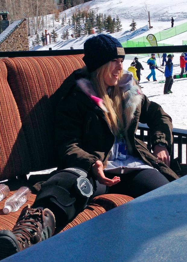 Skier Lindsey Vonn