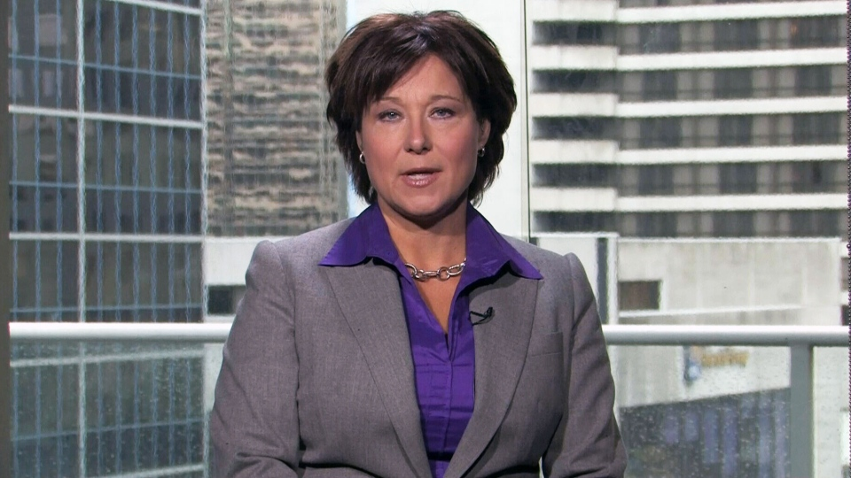 B.C. Premier Christy Clark speaks to CTV's Question Period in an interview that aired on March 30, 2014.