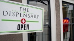 The Dispensary medical marijuana shop is shown in Vancouver, B.C.on Thursday, March 6, 2014. (THE CANADIAN PRESS / Jonathan Hayward)