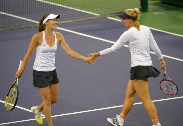 Martina Hingis title Sony Open