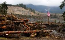 Washington mudslide death toll