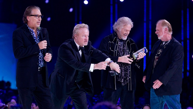 Bachman Turner Overdrive accept their Juno