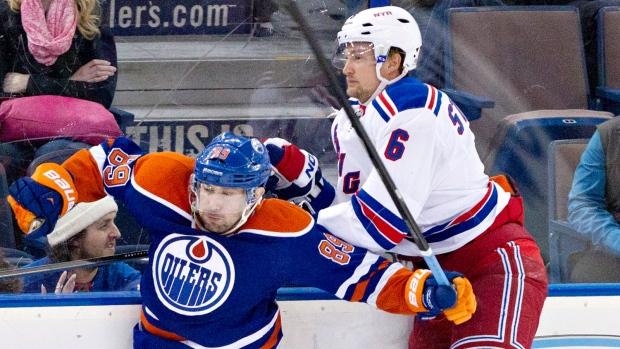Rangers top Oilers