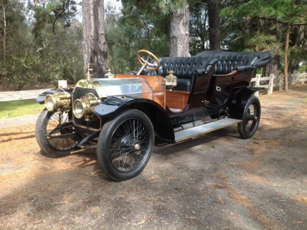 This 35hp Mercedes from 1909 will be auctioned