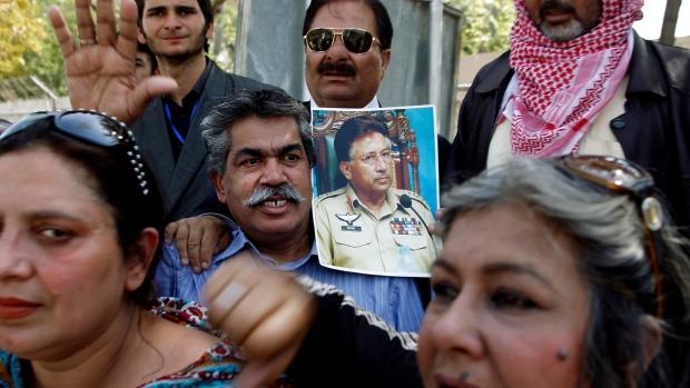 Musharraf indicted in treason case