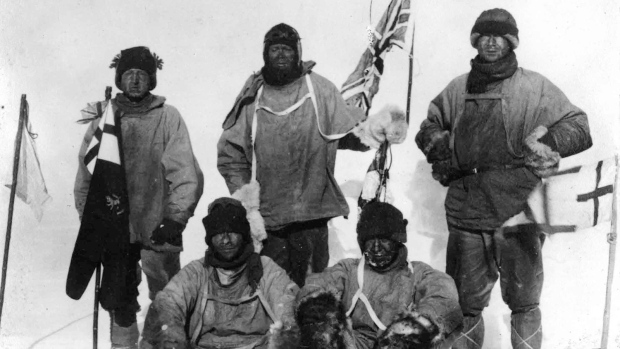 Robert Falcon Scott Antarctic voyage