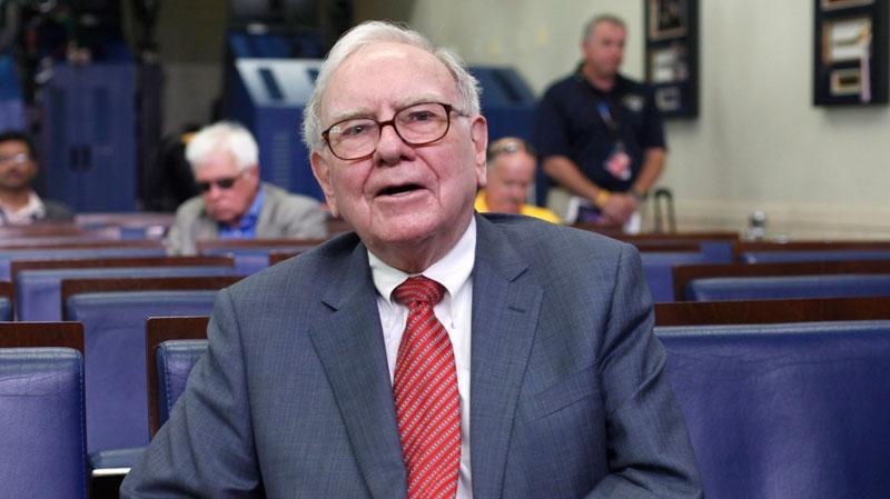 Warren Buffett is interviewed in the White House Briefing Room in Washington on Monday, July 18, 2011. (AP / Pablo Martinez Monsivais)