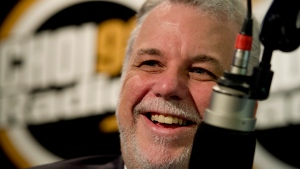 Quebec Liberal Party Leader Philippe Couillard tou
