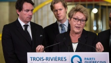 Pauline Marois speaks about notwithstanding clause