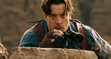 Brendan Fraser in Universal Pictures' 'The Mummy: Tomb of the Dragon Emperor'