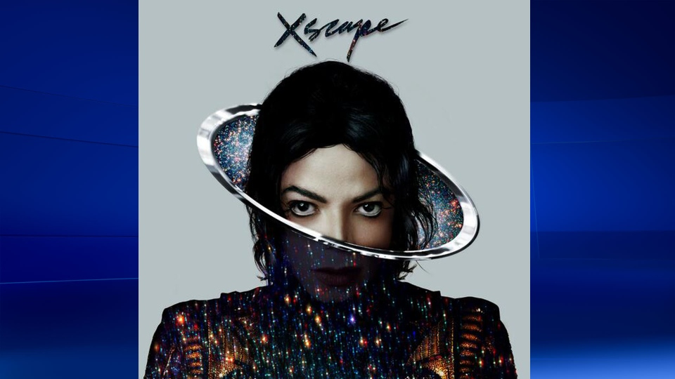 The cover of 'XSCAPE' is shown in this image taken from Twitter. The new album will feature eight previously unreleased tracks from the late Michael Jackson. (Twitter, via @Epic_Records)