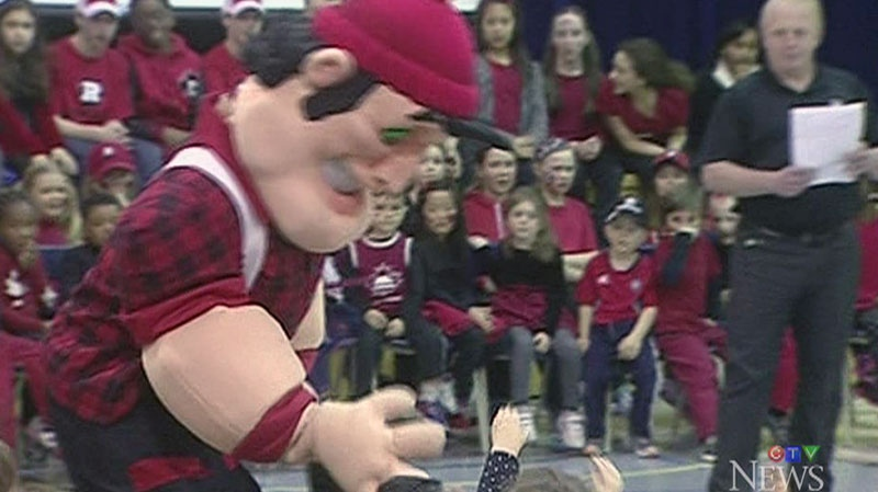 The Ottawa RedBlacks have changed their mascot's name to to 'Big Joe,' or in French, 'Grand Jos.'
