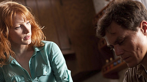 Jessica Chastain and Michael Shannon in Sony Pictures Classics' 'Take Shelter'.