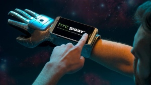 HTC and Samsung have both chosen April 1 to launch new smart glove wearable technology devices. (Photo courtesy HTC)