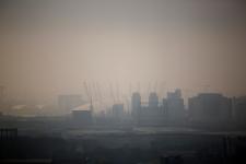 Smog blankets Britain