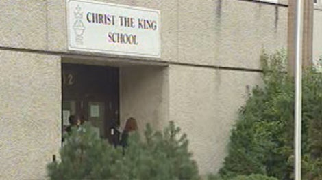 The Christ the King School is located in Winnipeg's south end.
