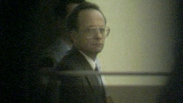 Valery Fabrikant at court in 1992.