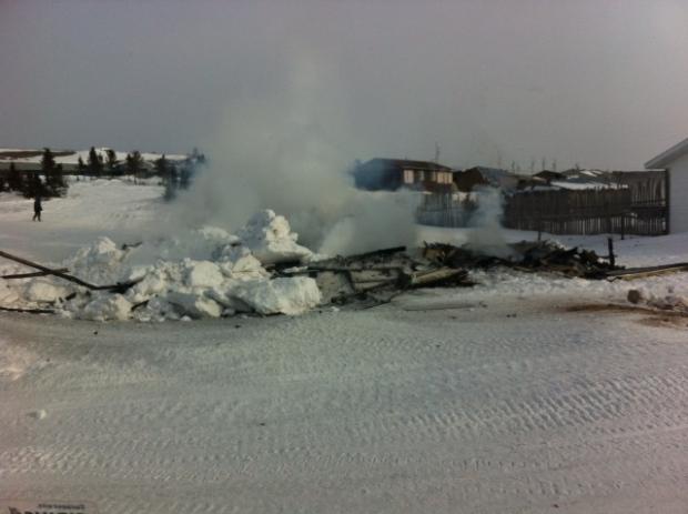 Hatchet Lake fire