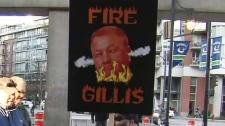 Fire Gillis protest
