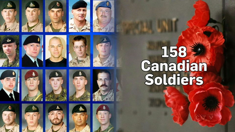 Families of fallen soldiers invited to Ottawa service must ...