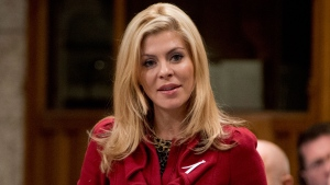 Conservatve MP Eve Adams is shown responding to a question during question period in the House of Commons in Ottawa on Thursday November 28, 2013. (Adrian Wyld / THE CANADIAN PRESS)