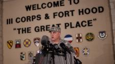 Fort Hood commander Lt. Gen. Mark Milley