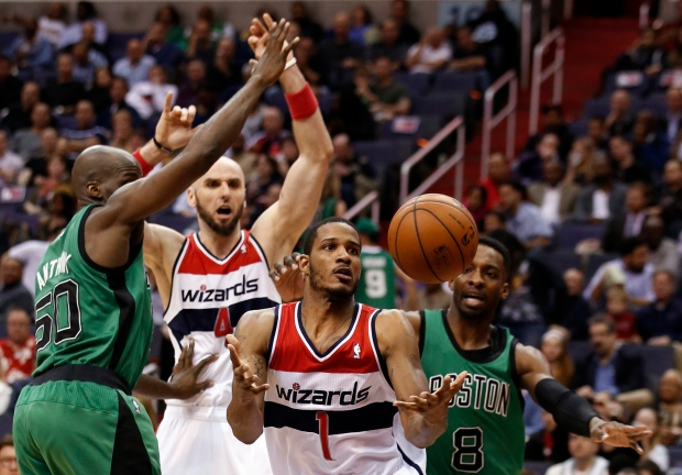 Wizards top Celtics