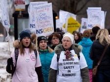 Nurses strike in Halifax