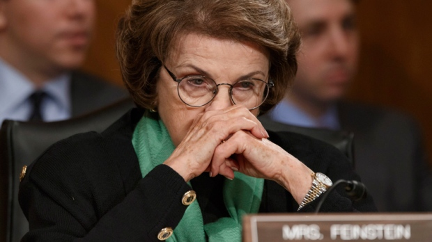 Sen. Dianne Feinstein in Washington, D.C.