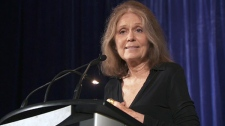 Steinem was in Toronto to speak at a fundraiser for the Canadian Women's Foundation on Thursday, Sept. 29, 2011. Steinem told participants at the event that she is a 'secret Canadian.'