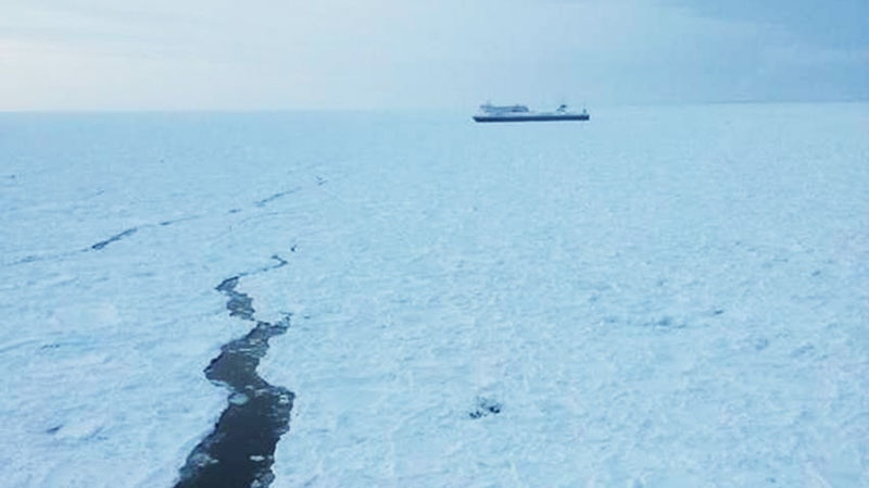 Icebreaker to assist ferries stuck in Cabot Strait