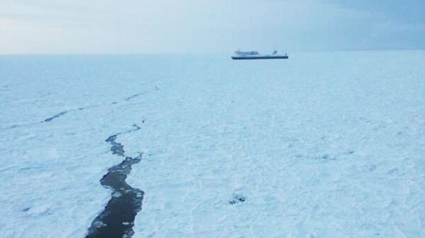 Icebreaker to assist ferries stuck in Cabot Strait