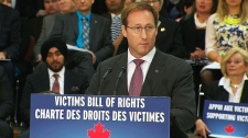 Harper government unveils victims' rights bill