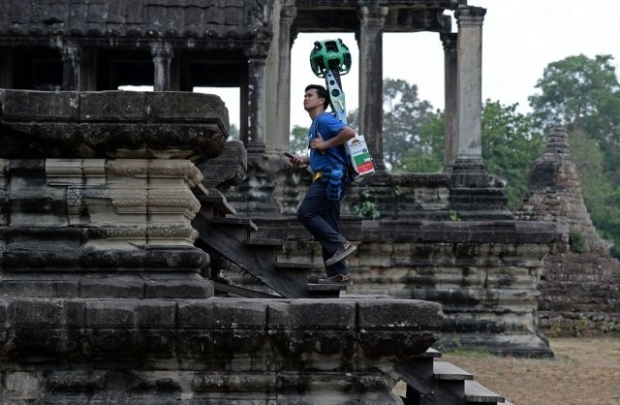 Google Maps Cambodia S Angkor Wat People Can Visit