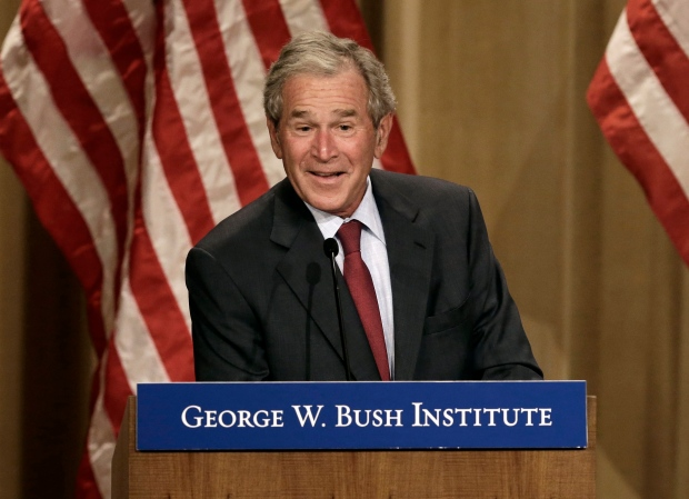 George W. Bush at energy conference